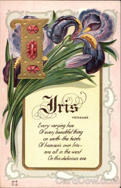 Iris Poem Flowers