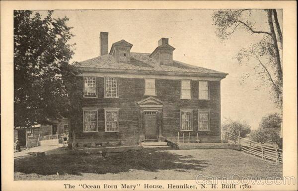 The Ocean Born Mary House Henniker Nh