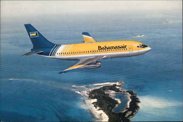 Bahamasair Boeing 737 200 Advanced The National Airlines