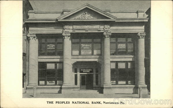 The Peoples National Bank Norristown, PA