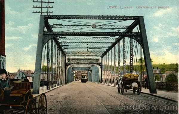 Centerville Bridge Lowell MA