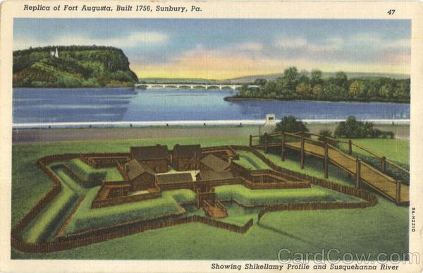 Replica Of Fort Augusta Sunbury PA