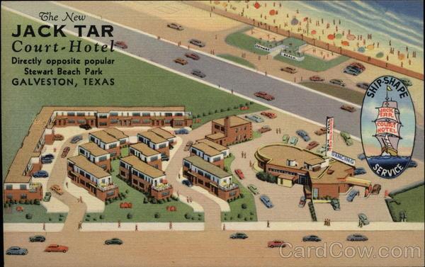 The New Jack Tar Court Hotel Galveston TX