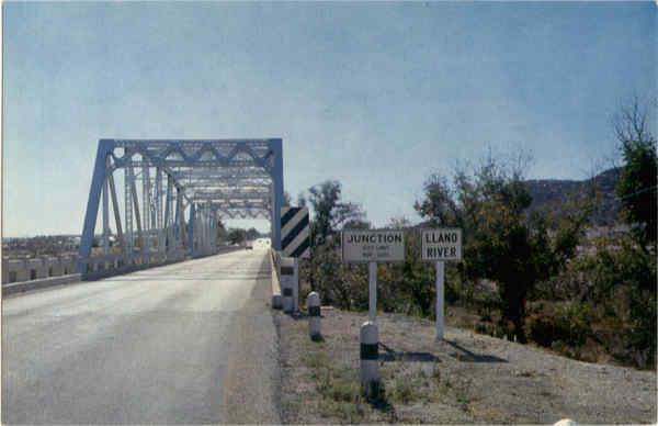 Bridge Over The Llano River Junction TX