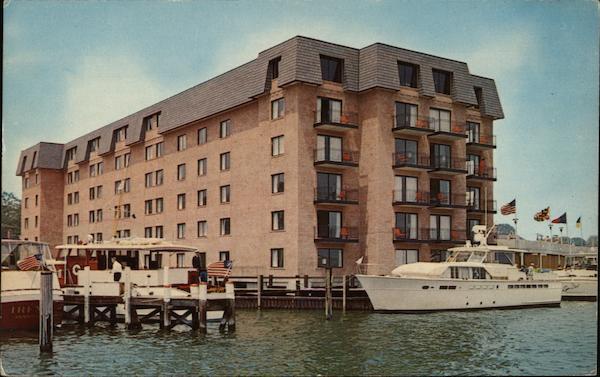 Statler Hilton Inn Annapolis MD Postcard