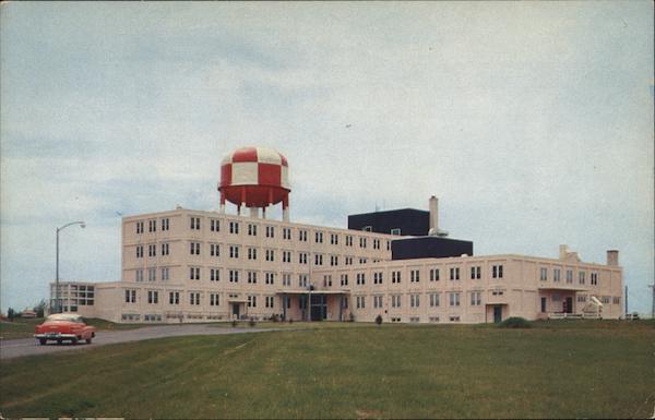 Base Hospital Loring Air Force Base Limestone Me Postcard