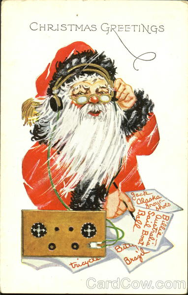 Santa On Radio Santa Claus
