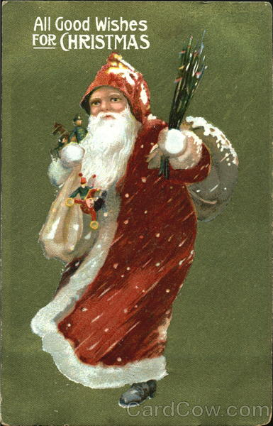 German Santa Santa Claus