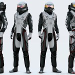 SRT Race G-suit for the SRT Tomahawk GTS-R Vision Gran Turismo