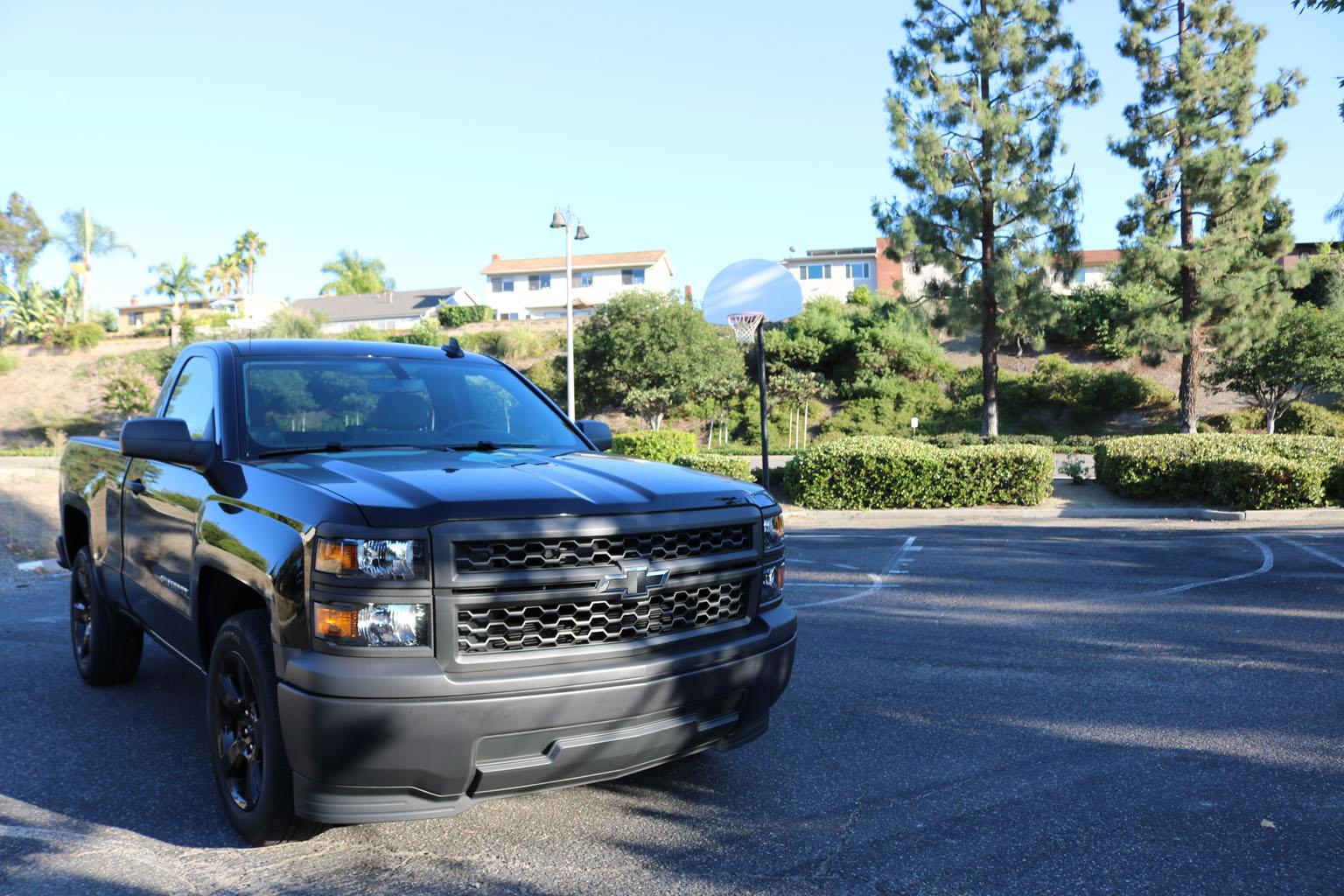 2015 Chevrolet Silverado Black Edition | Car Design TV