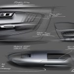 6th Generation Mustang Ideation Sketches