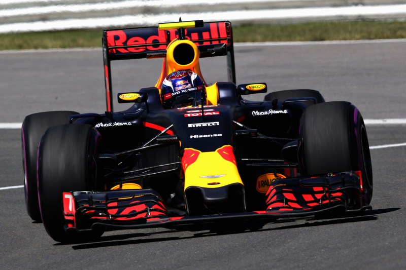 MONTREAL, QC - JUNE 10: Max Verstappen of the Netherlands driving the (33) Red Bull Racing Red Bull-TAG Heuer RB12 TAG Heuer on track during practice for the Canadian Formula One Grand Prix at Circuit Gilles Villeneuve on June 9, 2016 in Montreal, Canada.  (Photo by Charles Coates/Getty Images) // Getty Images / Red Bull Content Pool  // P-20160610-01598 // Usage for editorial use only // Please go to www.redbullcontentpool.com for further information. //