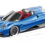 Huayra_Roadster_sketch_front