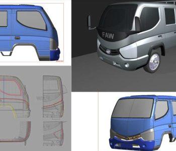 faw design truck