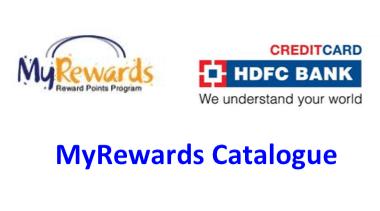 HDFC REDEEM CATALOGUE PDF
