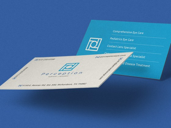 Perception business card