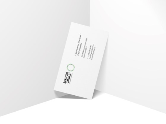 Sektor Group business card