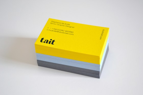 Tait business cards