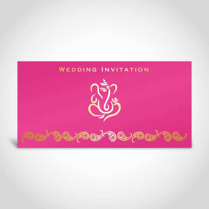 pink-indian-wedding-card-with-gold-foiled-ganesh-dl-sized-invitation-card