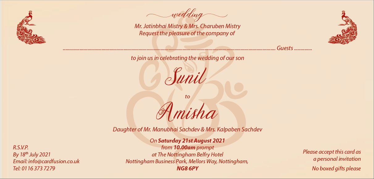العلامة Wedding Invitation Card Format Hindu أفضل الصور