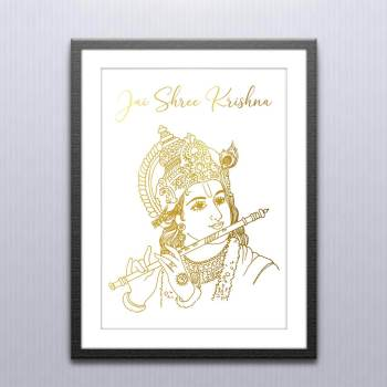 Krishna Wall Art