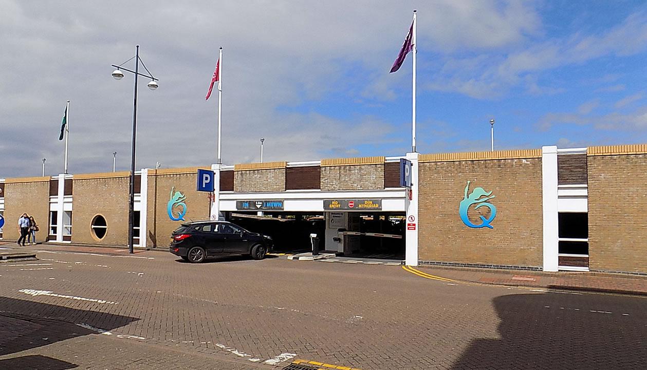Cardiff Bay Mermaid Quay Car Park