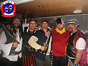 Stag weekend Cardiff pirates