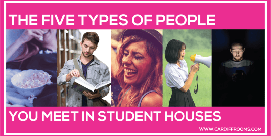 The Five Types of People You Meet In Student Houses