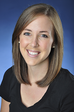 Jenna Kelley was recently announced as the new women's volleyball assistant coach for the 2015 season.