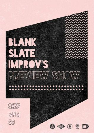 Blank Slate's preview show is the first show of the year