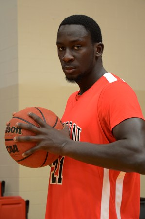 Serigne Mboup, Forward for Union's Men's Basketball