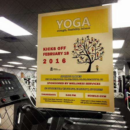 Union will offer yoga classes for students, faculty and staff this semester. | Photo by Natalie Smith