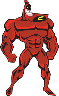 The Crimson Chin- a fictional super hero. |Submitted photo