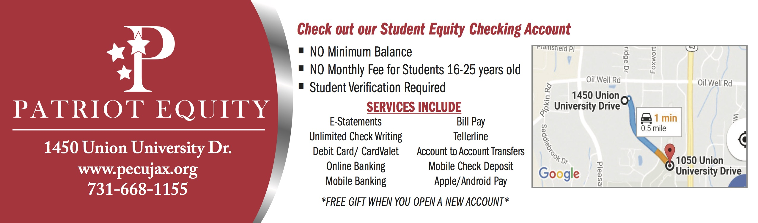 Patriot Equity Credit Union
