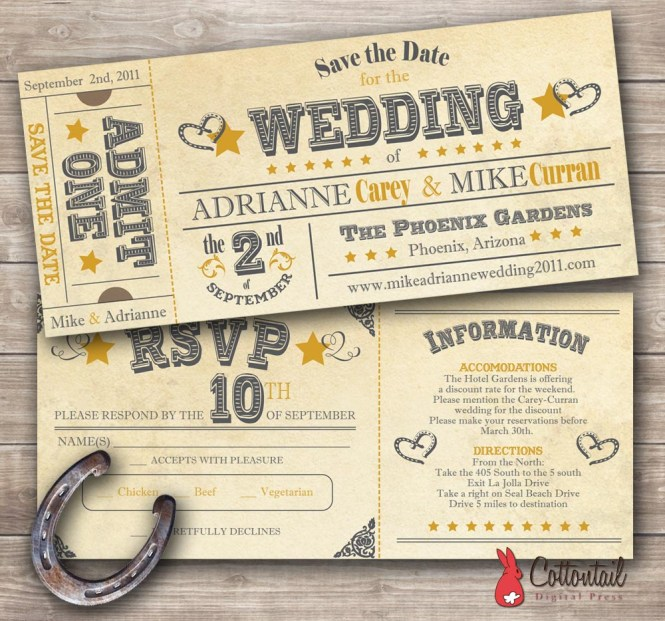 Western Wedding Ideas For Decorating 99 Cowboy Invitations
