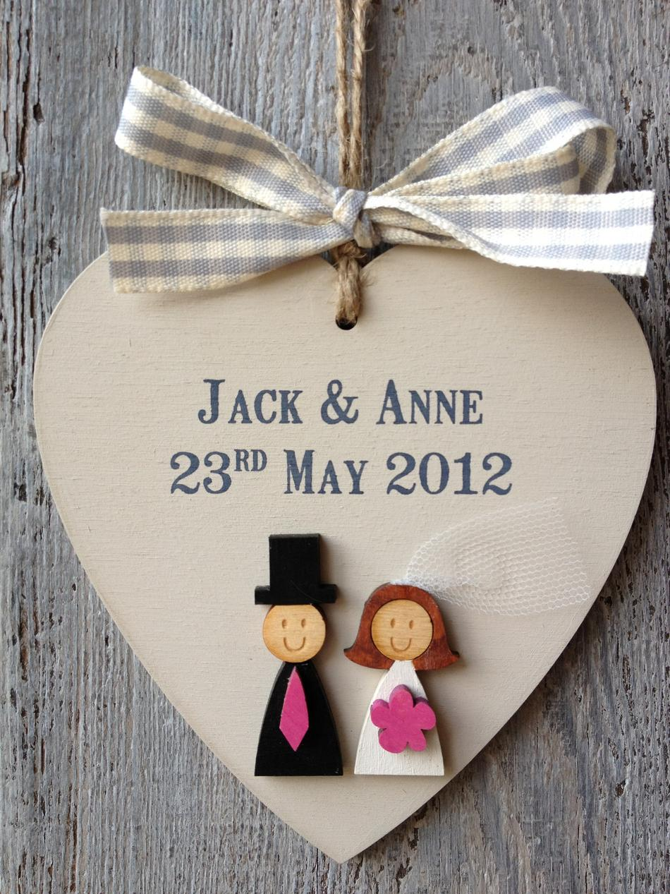 Personalised Wedding Gifts For Bride And Groom Gift Ftempo