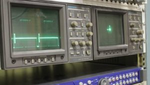 We always use waveform and vectorscope monitoring.