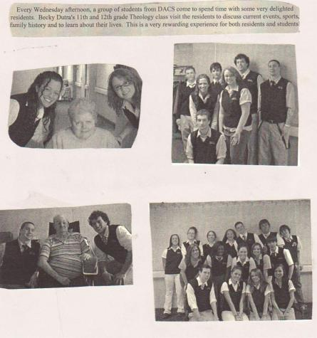 #TBT Throwback to 2006 – DCC Students Visit Nursing Home Residents