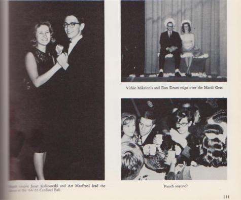 #TBT Throwback to DCC Cardinal Ball from 1963 and 1965