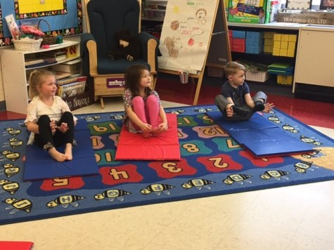 Y is for Yoga in DCC All Day Preschool