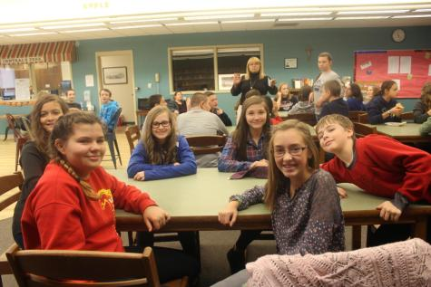 DCC 7th Grade Learns about Responsibility at Retreat