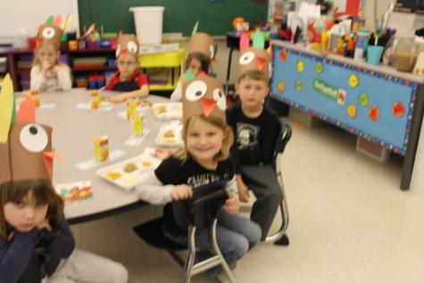 Preschool Learns About the Holiday of Thanksgiving