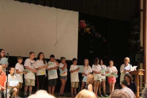 DCC 5th Graders Graduate to Middle School