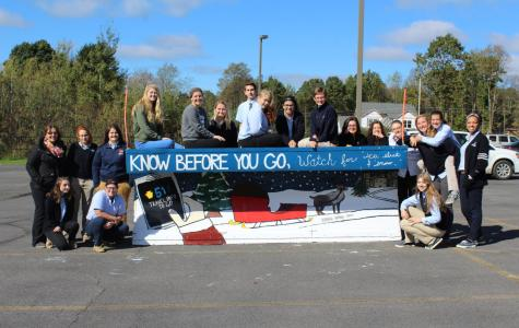 "DCC Art Students Complete ""Paint the Plow"" Project by PennDot"