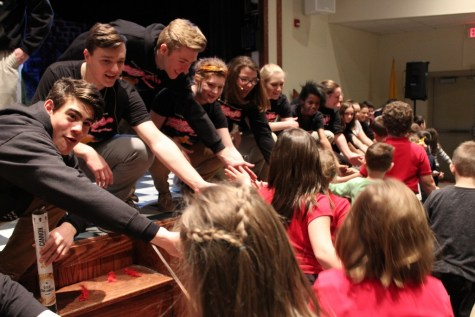 Footloose Cast Performs Teaser for DCC Elementary Students – Lots of Photos