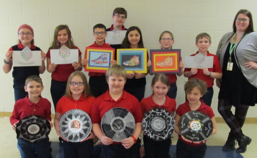 DCC Elementary Art Students Support Footloose