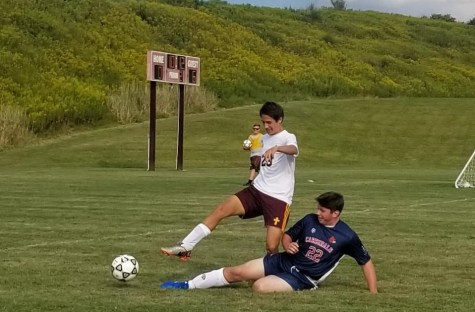 DCC Soccer Team Wins First Playoff Game