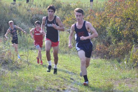 DCC Cross Country Team Finishes Up in Style