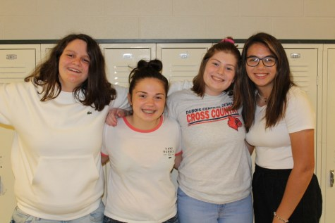 DCC Students Wear White for Life