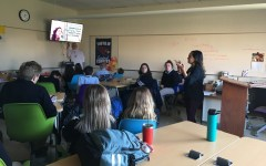 "Pro-Life Speaker Visits Senior Theology Classes and ""Students for Life Group"" Begins"
